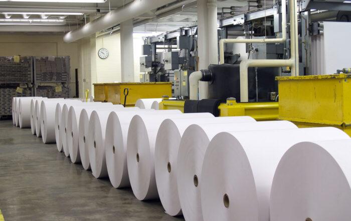 Papierproduktion